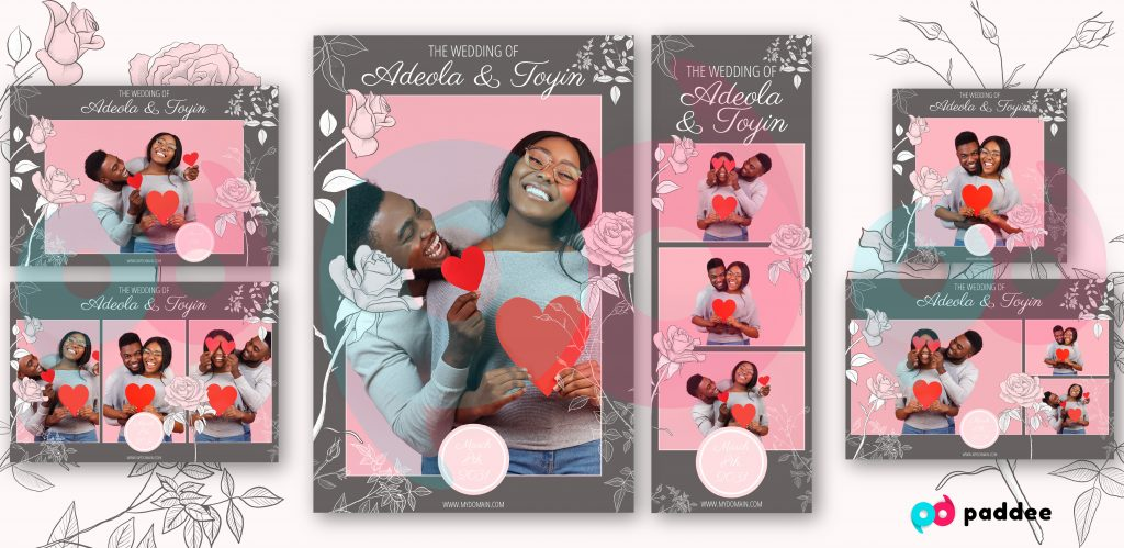 Wedding Photo Booth Template [September 2020]